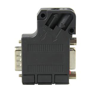 PROFIBUS DP接头总线连接器35度角(带编程口)