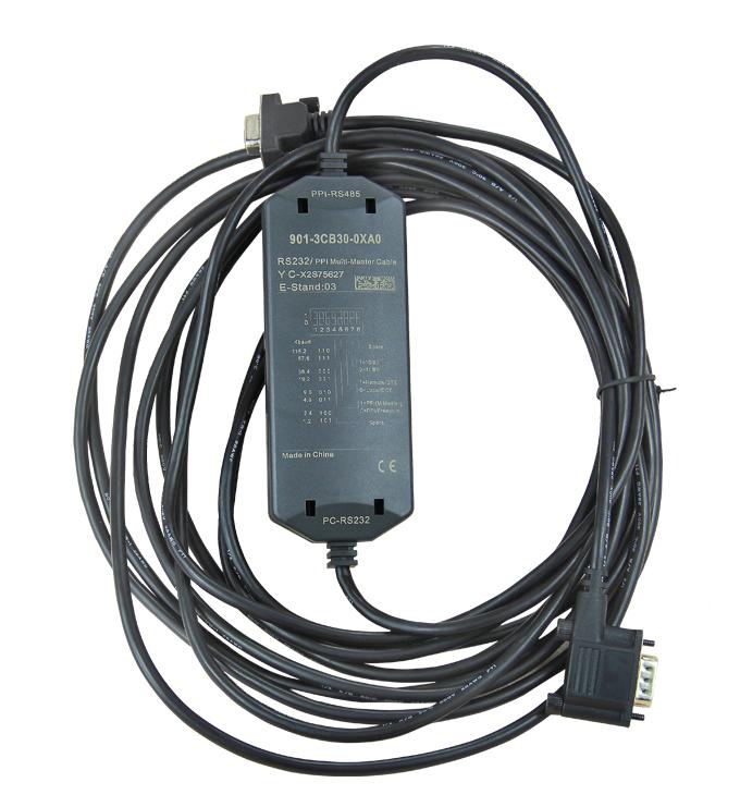 国产兼容西门子S7-200/300系列PLC,西门子PLC编程电缆型号为:6ES7 901-3CB30-0XA0