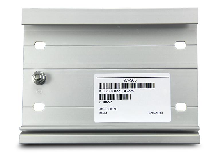 兼容西门子S7-300系列专用导轨,西门子的导轨型号为:6ES7 390-1AJ30-0AA0